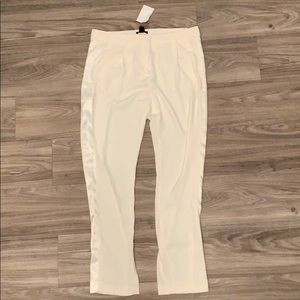 Cream office pants